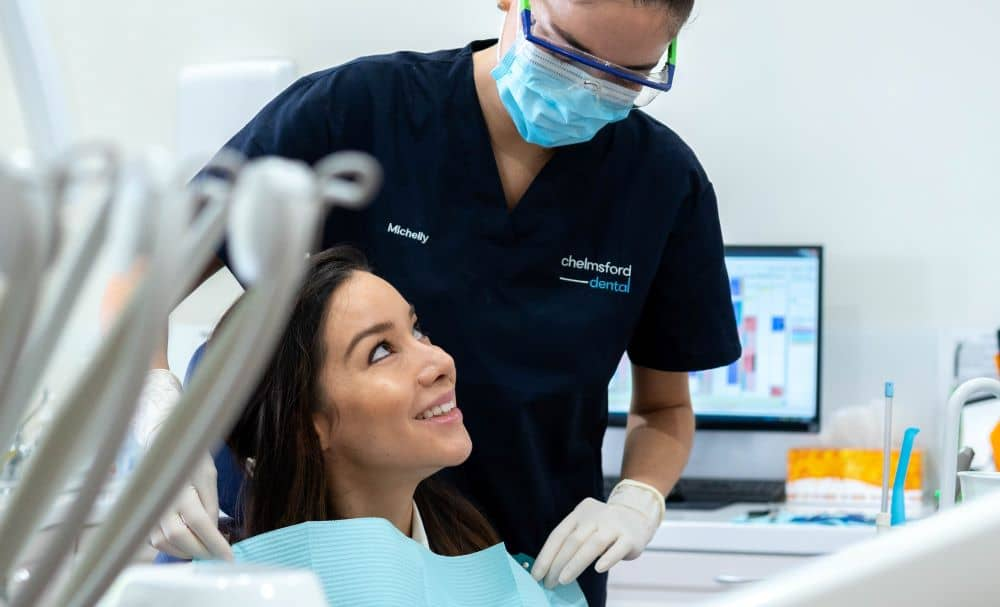 Reassuring the patient - Chelmsford Dental.